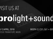 Prolight + Sound 2018: MA Lighting mostrará grandMA3 en vivo por primera vez