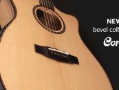Cort presenta las guitarras acústicas de la Bevel Cut Collection