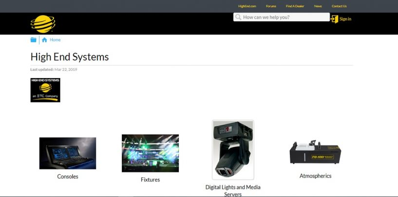 High End Systems anuncia Knowledge Management Site para soporte online