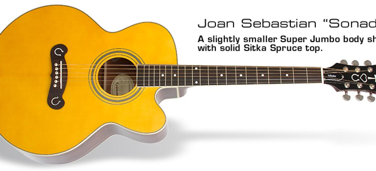 Guitarras Epiphone lanza las oficiales de Joan Sebastian