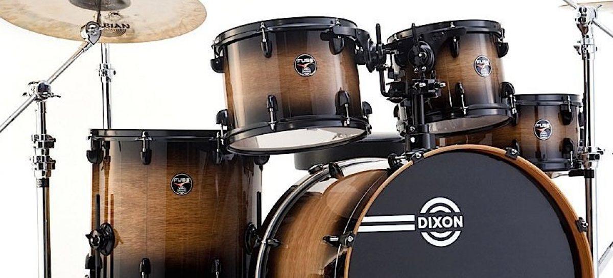 Dixon Drums: habilidad en la creación de baterias