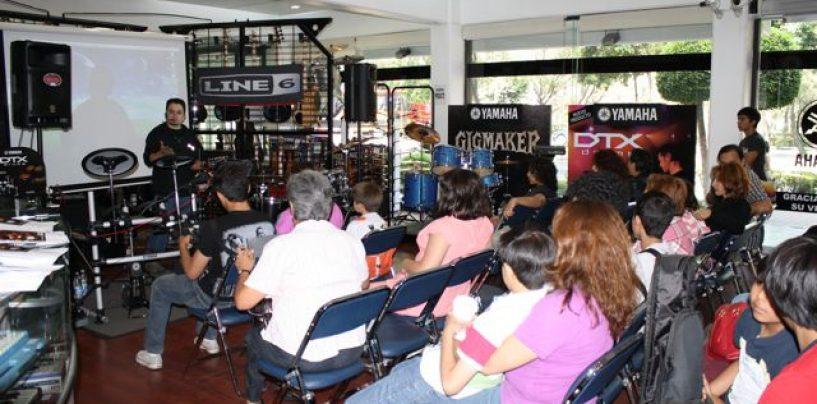 Yamaha México organiza demostración de batería