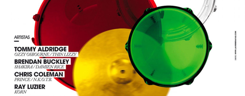 Participará Yamaha en La Rioja Drumming Festival