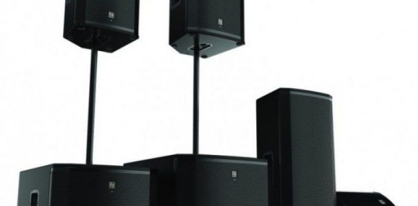 Electro-Voice lanza la serie ETX de altavoces activos