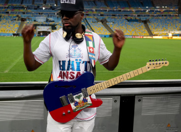 Wyclef Jean tocará una guitarra de Fender en la ceremonia de la Copa Mundial 2014