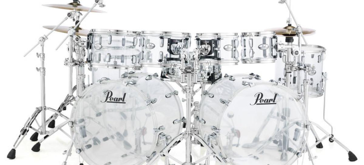 Summer NAMM: Pearl trajo de regreso el set de batería Crystal Beat