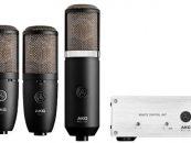 AKG añade cinco nuevos modelos de micrófonos a su línea Project Studio