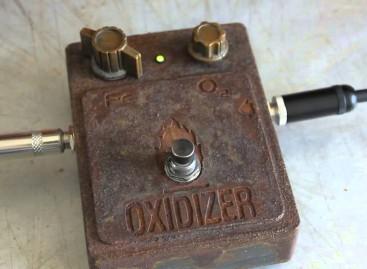 The Oxidizer es el nuevo pedal de efectos de Hutchinson Guitar Concepts