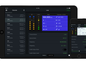 Nueva aplicación móvil ShurePlus Channels para iOS de Shure