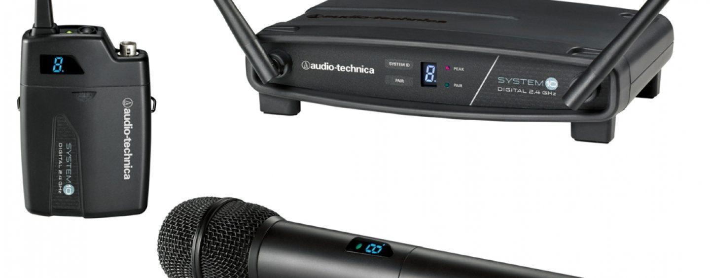 Audio-Technica dio a conocer el sistema inalámbrico System 10