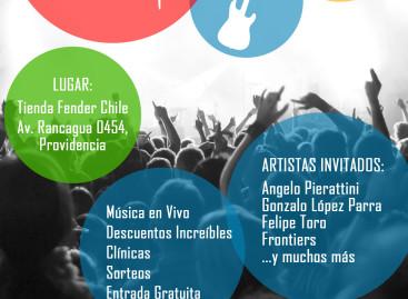 Fender Chile celebra el Fender Day