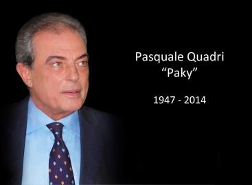 Lamentable adiós a Pasquale Quadri