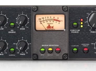 dbx presenta el preamplificador de micrófono 676 Tube Mic Pre Channel Strip