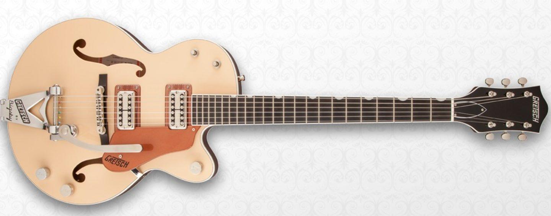 Nueva guitarra G6112TCB-JR Center-Block 2-Tone de Gretsch