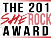 C.F. Martin & Co es uno de los patrocinantes de los premios She Rocks 2015