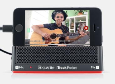 El iTrack Pocket de Focusrite le lleva a YouTube