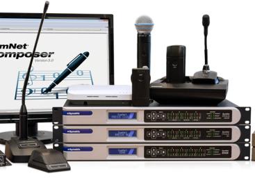 SymNet Composer 3.0 de Symetrix integrará productos de Shure y Audio-Technica