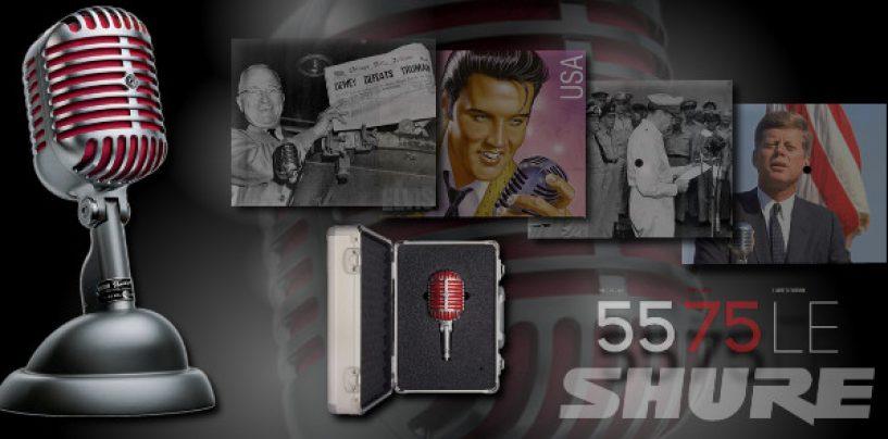 Micrófono 5575LE Unidyne de edición limitada de Shure
