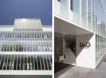 Las oficinas centrales de Dolce & Gabbana en Milán suenan con NEO