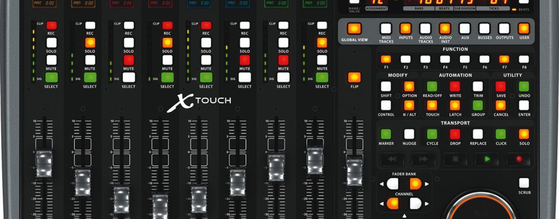 NAMM: Behringer puso el toque final con la serie X-TOUCH de controladores DAW