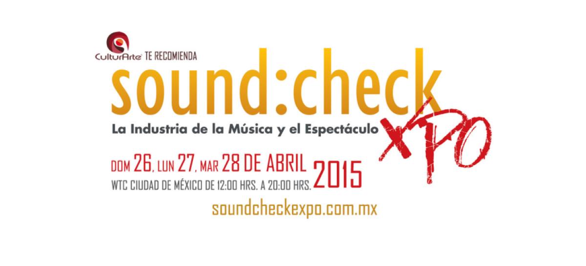 México se prepara para Sound:check Xpo