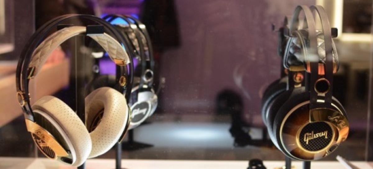 Los nuevos auriculares de Gibson están inspirados en la guitarra Les Paul