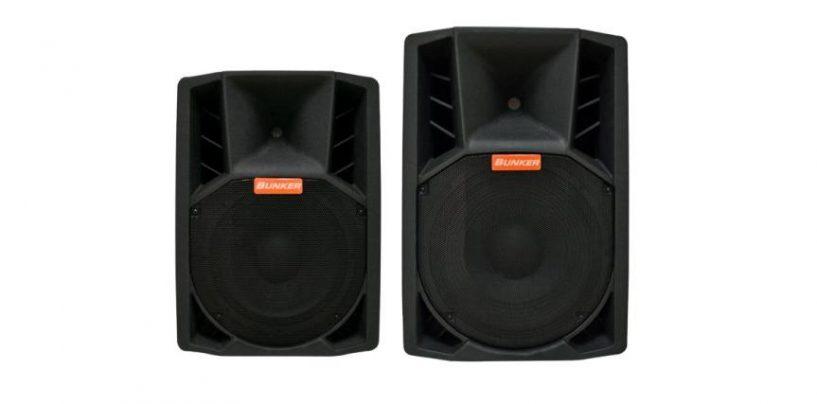 Bunker Audio y sus altavoces activos de la Xtreme Series