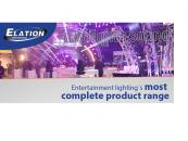 Elation Professional presentará su mayor alineación de productos en Prolight + Sound 2015