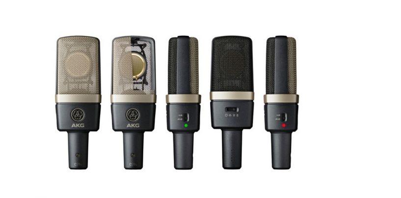 AKG desveló el nuevo micrófono C314