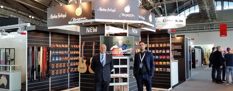 Medina Artigas y Magma Music regresaron a Musikmesse 2015