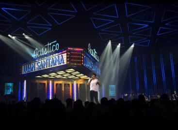 """Grabación del DVD de Luan Santana para su disco """"Acústico"""" cuenta con SGM"""