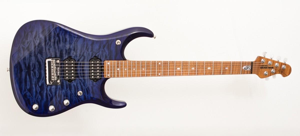 Disponible la guitarra JP15 Blueberry Burst de Music Man