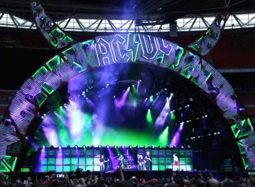 AC/DC rockea con las luminarias VL4000 BeamWash de Vari-Lite