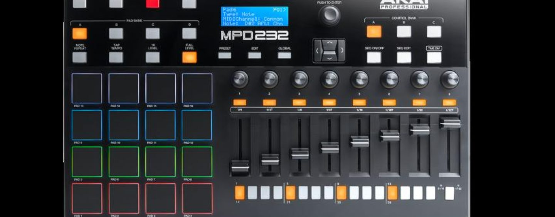 La MPD Series de Akai cuenta con nuevos modelos de controladores