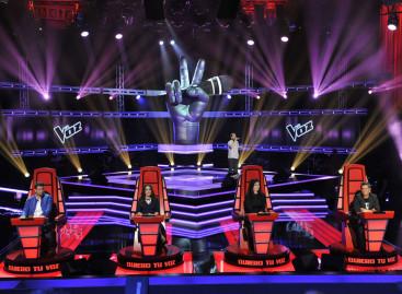 La Voz España se iluminó con Pointe y BMFL de Robe