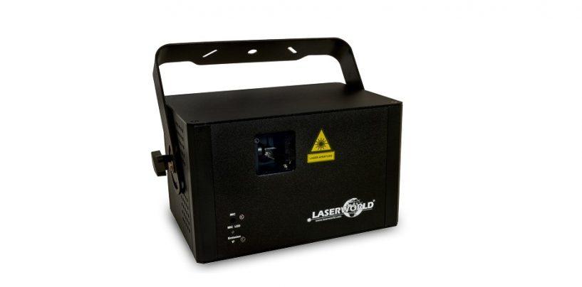 El nuevo sistema láser CS-1000RGB MKII continúa la Serie Club de Laserworld