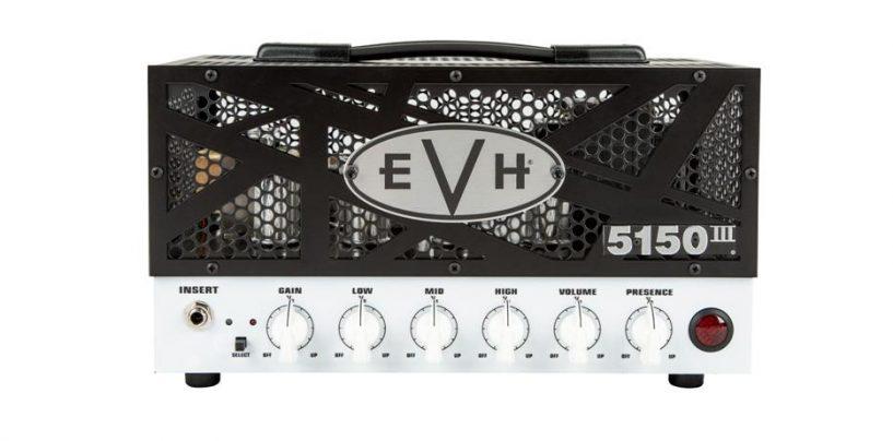El amp head 5150III 15W LBX de EVH ahora disponible en tamaño lonchera