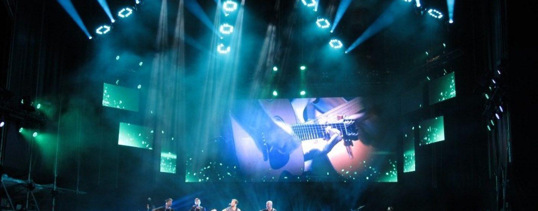 Pablo Alborán se fue de gira con los Cuepix Panels de Elation