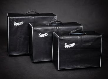 Supro presentó nuevas cubiertas para amplificadores y pedales