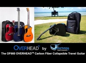 Journey Instruments presenta al bajo plegable OB660 Overhead
