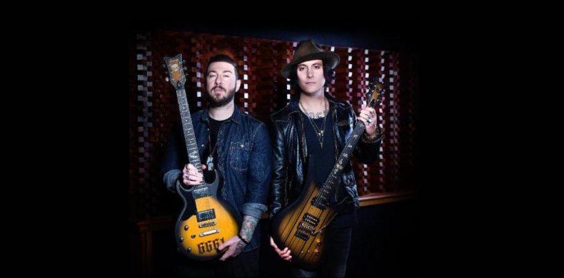 Avenged Sevenfold y Schecter presentan nuevos modelos de guitarra