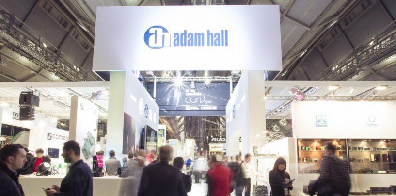 Adam Hall Group gozó de una buena semana en Prolight + Sound y Musikmesse