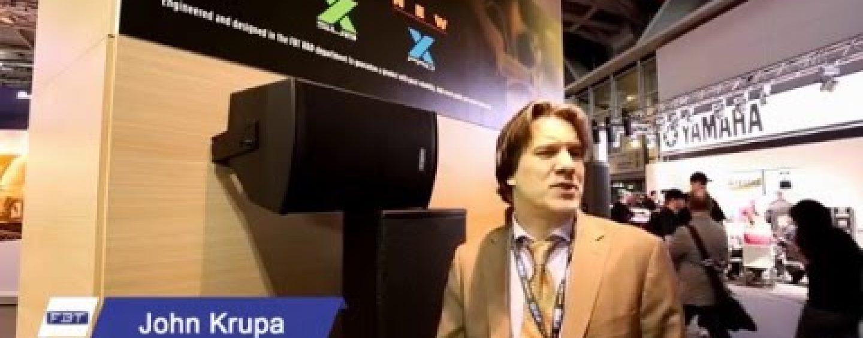 X-PRO Series, la oferta más reciente de FBT en altavoces pasivos