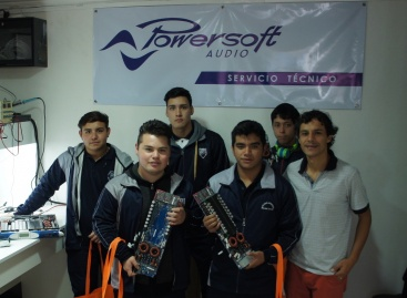 CyVmusic realiza entrenamiento de tecnología Powersoft en Chile