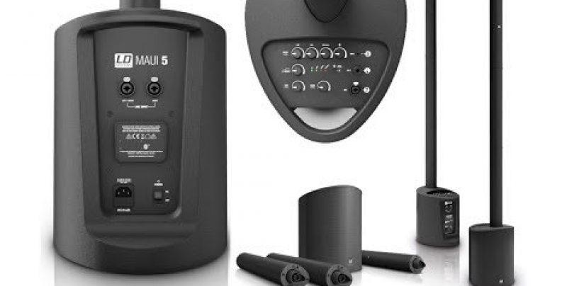 El MAUI 5 de LD Systems, ya está disponible en blanco