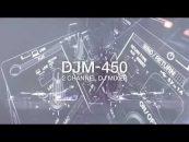 Llegó el DJM-450, un nuevo mezclador de dos canales de Pioneer DJ