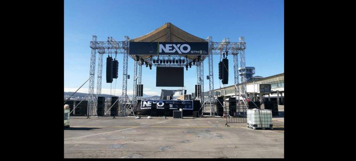 La serie STM de NEXO retumbó en Expo Música
