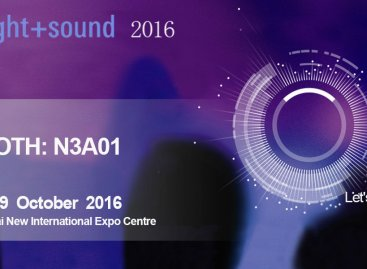 SAE Audio listo para Prolight + Sound 2016 Shanghai