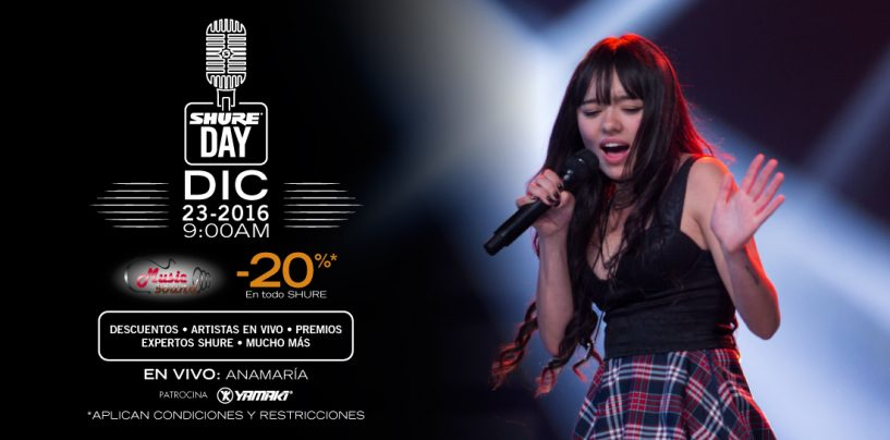 Shure Day Music Sound: descuentos imperdibles