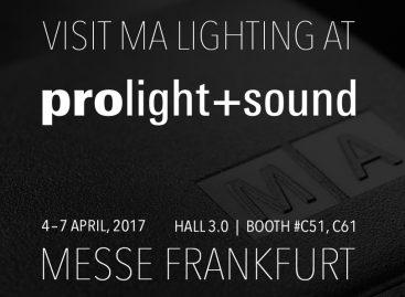 Prolight + Sound 2017: MA Lighting lanza nueva versión de su software dot2 series